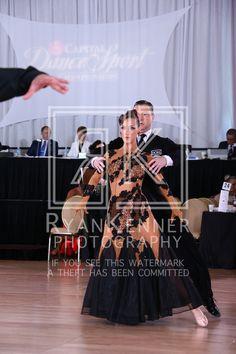 Brittany Falconer with Peter Walker win Open A Pro-Am Smooth #Ballroom at #CapitalDancesport. CAP16_26100535D