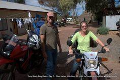 Day 7 Alice Springs to Glen Helen #blackdogride