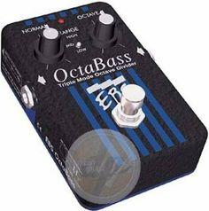 EBS OctaBass Tripple Mode Bass Octave Divider by EBS. $159.00