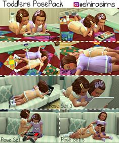 """Toddlers Pose Pack shirasims: """" Hello Everyone! Here is another pose pack, this time is for TODDLERS! The Sims 4 Pc, Sims 4 Teen, My Sims, Sims Cc, Sims 4 Poses, Sims 4 Couple Poses, Sims 4 Toddler Clothes, Sims 4 Cc Kids Clothing, Sims 4 Game Mods"""