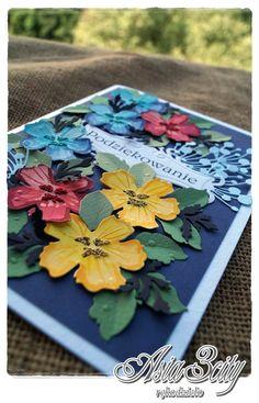 kartka w kaszubskich kolorach