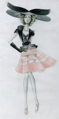 Nicole Jarecz Fashion Illustration: 10.09