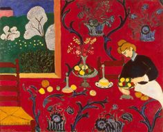 The Red Room (1908)Henri Matisse.
