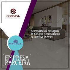 A Congesa também faz parte da nossa Rede de Parceiros! . Entre em contato consco e conheça nossos serviços e vantagens: (19) 3329-7741 / 9.7407-2216 ou contato@revistadavila.com.br