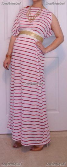 Asymmetrical Maxi Dress Easy DIY Tutorial