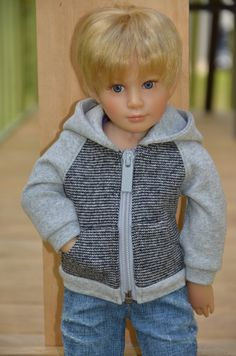 Hoodie for Kidz n Cats doll. by Symidollsclothes on Etsy, $15.00