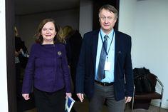 Accueil de Nathalie Loiseau, ministre des affaires européennes pour une présentation au Comité Economique et Social Européen sur le sujet des consultations citoyennes.