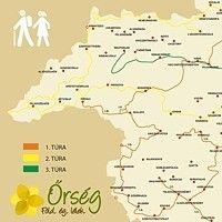 Térképek - Őrség.net Hungary, Map, Location Map, Maps