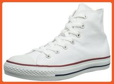 258d660f575 Converse All Star Hi Optical White Canvas Trainers-UK 8.5 - Sneakers for  women (
