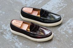a4af282a491 Oak Street Bootmakers give us an exclusive look at their new Beefroll Penny  Loafer featuring classic