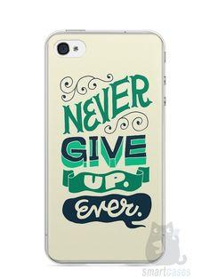 Capa Iphone 4/S Frase #2 - SmartCases - Acessórios para celulares e tablets :)