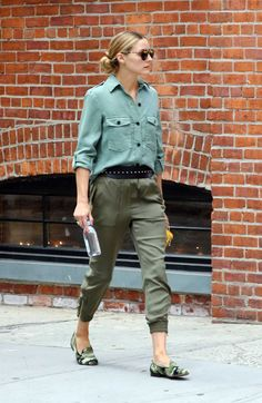 Olivia Palermo Out In New York - August 21, 2016