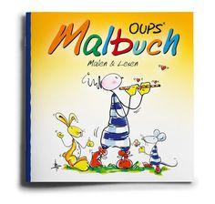OUPS Malbuch - malen & lesen