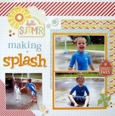 Making a Splash - Scrapbook.com