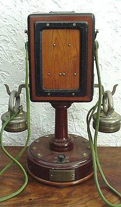 Téléphone d'Arsonval de 1898