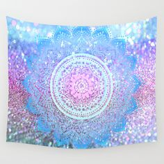 Buy Pastel Mandala by haroulita as a high quality Wall Tapestry. Worldwide shipping available at Society6.com. Just one of millions of products available.