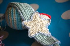 Greedy For Colour: A Quick Crochet Star Pattern. FP 2/15.