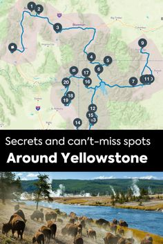Yellowstone National Park is one of the most famous parks in the country, but just because it's popular doesn't mean it isn't loaded with hidden gems and incredible secrets.