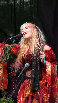 Candice Night (Ritchie Blackmore's wife) of Blackmore's Night