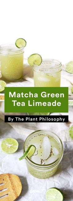 4. Matcha Green Tea Limeade #Greatist http://greatist.com/eat/healthy-brunch-recipes-for-the-new-year