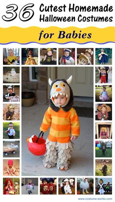 Cutest Homemade Costumes for Babies {via Costume-Works.com}