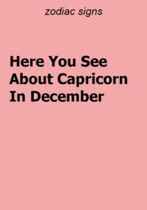 Here You See About Capricorn In December - ZodiacTypes Aquarius Facts, Sagittarius Facts, Pisces Zodiac, Zodiac Signs, Cancer Facts, Zodiac Calendar, Nature Music, Zodiac Compatibility