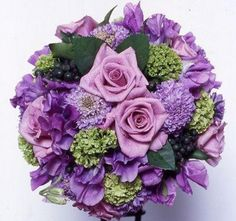 purple+wedding+flowers | Purple themed wedding flowers | Purple Picture