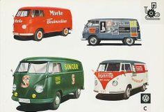 VW typ 2 1956