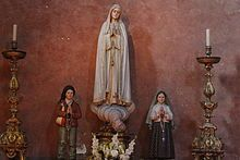 Pray4Us2day Our Lady of Fatima (May 13) - Title for #Saint Mary after famous apparitions to Portuguese shepherd children in 1917.