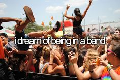 A part of who I am. This has always been my dream - I hope I live it someday.