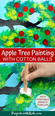 Fall Arts And Crafts, Fall Crafts For Kids, Toddler Crafts, Preschool Crafts, Painting Crafts For Kids, Fall Art For Toddlers, Preschool Painting, Children Crafts, Family Crafts