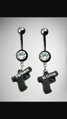 Partner in crime belly rings