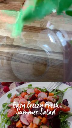 Raw Vegan Recipes, Healthy Salad Recipes, Chopped Salad, Vegan Lifestyle, Beetroot, Red Apple, Red Peppers, Summer Salads, Cherry Tomatoes