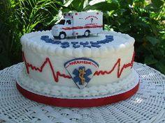 paramedic graduation cake   Paramedic Graduation Cake
