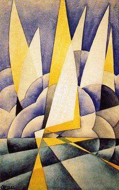 Tullio Crali | 1910-2000, Italy, Futurism