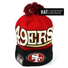 3621e4bd38a Hat Locker    New Era San Francisco 49ers Winter Fresh Pom Knit Beanie
