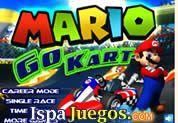 Juego de Mario Go Kart | JUEGOS GRATIS: Mario tiene una carrera mas con su amigos, y tendrás que demostrar nuevamente quien es el mejor, ten cuidado en la pista ya que hay bananas que te reducirán la velocidad pero encontraras bonus para velocidad.