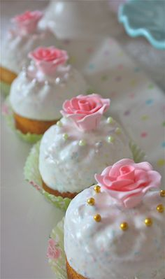 Marie Antoinette Cakes Let Them Eat by marionsvintagebakery on Etsy  pastel weddings, pink, mini cake, cupcakes, flower girl gifts