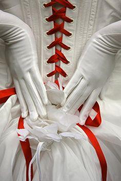 Perfect!! A baseball wedding dress!!