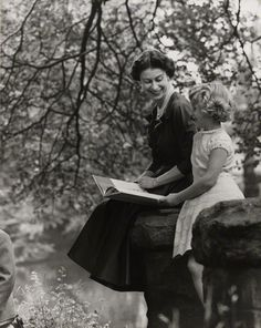 royaland:  transiberiana:   HM Queen Elizabeth II with her daughter Princess Anne by Lord Snowdon (1957)   Princess Anne Spam