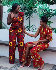 Rock the Latest Ankara Jumpsuit Styles these ankara jumpsuit styles and designs are the classiest in the fashion world today. try these Latest Ankara Jumpsuit Styles 2018 African Dresses For Women, African Print Dresses, African Fashion Dresses, African Attire, African Wear, African Women, Ankara Fashion, Nigerian Fashion, African Clothes