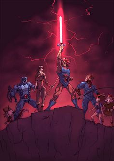 Thundercats HoooooOOO by ~thesenileauthor on deviantART