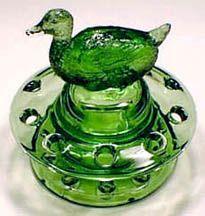 glass flower frog