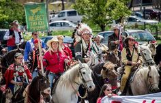 As fossil fuel firms drive bitumen tar sands pipelines toward U.S. and Canadian coasts, a bold alliance of U.S. Native Peoples and Canadian First Nations is successfully blocking their way.