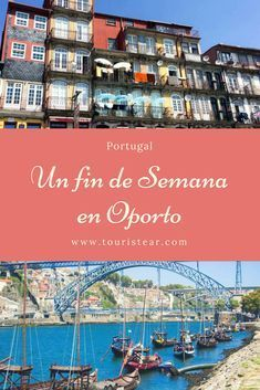 que ver en un fin de semana en Oporto. Esta ciudad del norte de Portugal te sorprenderá muy gratamente. #Oporto #Portugal Best Beaches In Portugal, Portugal Vacation, Hotels Portugal, Places In Portugal, Visit Portugal, Portugal Travel, Algarve, Best Hotels, Where To Go