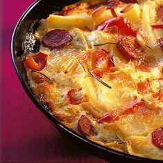 Zigeuner-Kartoffelblech Rezept | Küchengötter