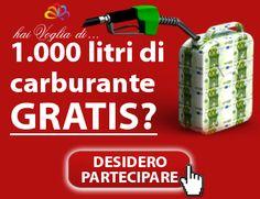 Anche tu ne hai abbastanza del caro benzina?! Partecipa e avrai l'opportunità di vincere 1.000 litri di carburante GRATIS!