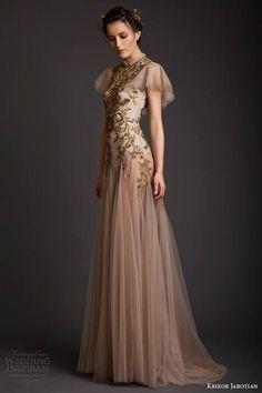 Krikor Jabotian Spring 2014 Dresses — Akhtamar Couture Collection