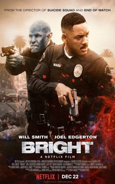 Movie Posters : Bright (2017)