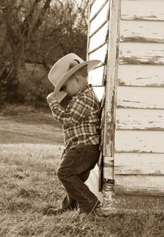 Cute little Kansas cowboy!